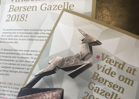 HD Bolig er Børsen Gazelle 2018