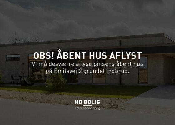 AFLYSNING AF ÅBENT HUS I PINSEN